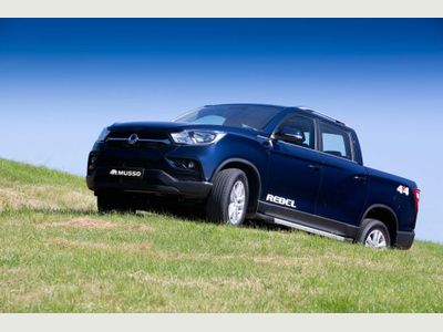 SsangYong Musso Pickup 2.2d Rebel 4WD EU6 4dr