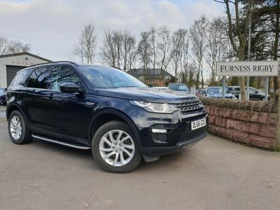Land Rover Discovery Sport SUV 2.0 TD4 SE Tech 4WD (s/s) 5dr 7 Seat