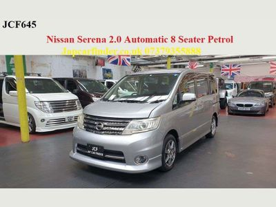 Nissan Serena MPV Automatic petrol Highway star 8 seater