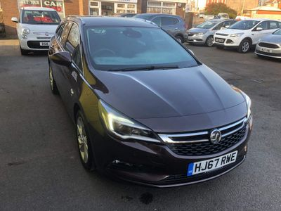 Vauxhall Astra Estate 1.4i Turbo SRi Sports Tourer 5dr
