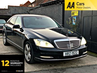 Mercedes-Benz S Class Saloon 3.5 S350 BlueEFFICIENCY 7G-Tronic Plus 4dr