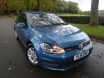 Volkswagen Golf Estate 1.6 TDI BlueMotion (s/s) 5dr