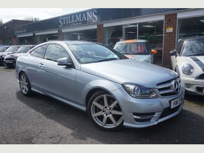 MERCEDES-BENZ C CLASS Coupe 2.1 C250 CDI BlueEFFICIENCY AMG Sport 7G-Tronic Plus 2dr (Map Pilot)