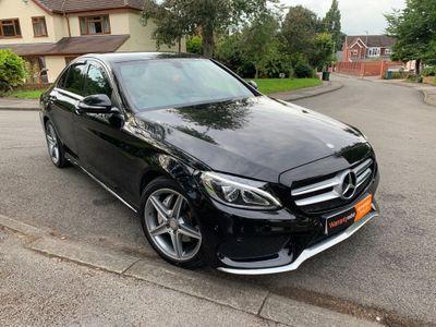 Mercedes-Benz C Class Saloon 2.1 C220d AMG Line 7G-Tronic+ (s/s) 4dr