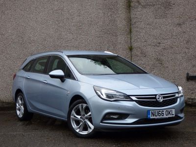 Vauxhall Astra Estate 1.4i Turbo SRi Nav Sports Tourer Auto (s/s) 5dr