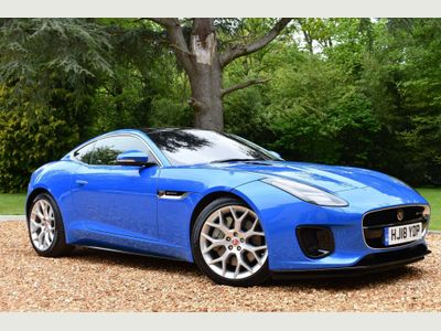 Jaguar F-Type Coupe 2.0i R-Dynamic Auto (s/s) 2dr