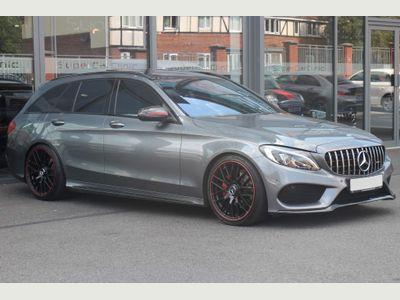 Mercedes-Benz C Class Estate 2.1 C220d AMG Line (Premium Plus) G-Tronic+ (s/s) 5dr