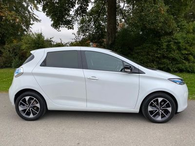 Renault Zoe Hatchback R90 41kWh Dynamique Nav Auto 5dr (Battery Lease)