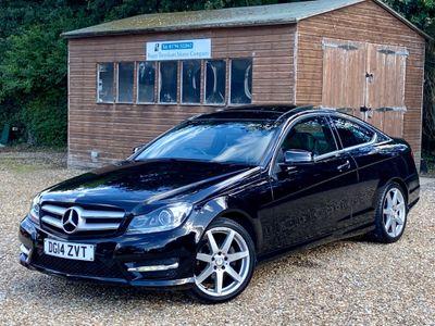 Mercedes-Benz C Class Coupe 1.6 C180 AMG Sport Edition (Premium Plus) 7G-Tronic Plus 2dr