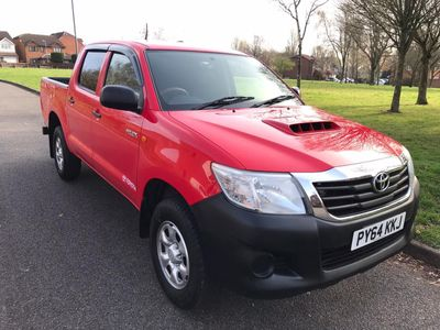 Toyota Hilux Pickup 2.5 D-4D ACTIVE DOUBLE CAB PICK UP 4X4