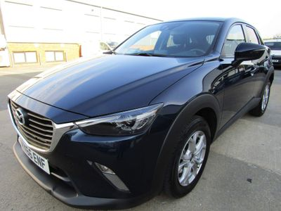 Mazda CX-3 SUV 2.0 SKYACTIVE-G PETROL 5 DR MANUAL