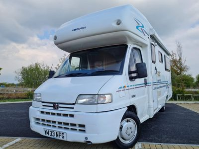 Compass Sorry now sold Coach Built Peugeot boxer
