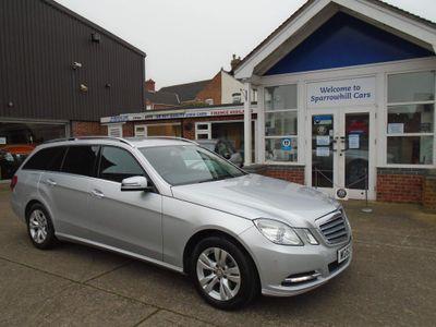 Mercedes-Benz E Class Estate 2.1 E220 CDI BlueEFFICIENCY SE 7G-Tronic Plus (s/s) 5dr