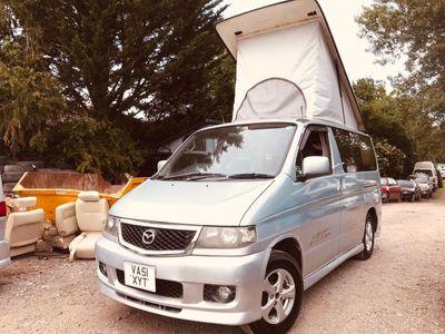 Mazda BONGO POP TOP 4 BERTH FULL JAL SLIM CAMPER Campervan CONVERSION LPG 87K