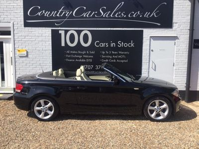 BMW 1 Series Convertible 2.0 118i Sport 2dr