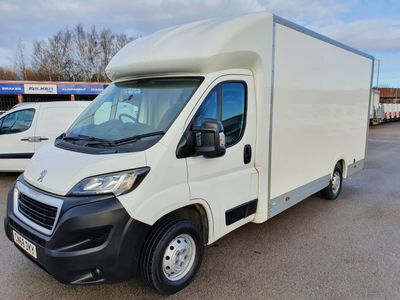 Peugeot Boxer Luton 2.0 BlueHDi 335 Built for Business Plus L3 EU6 3dr