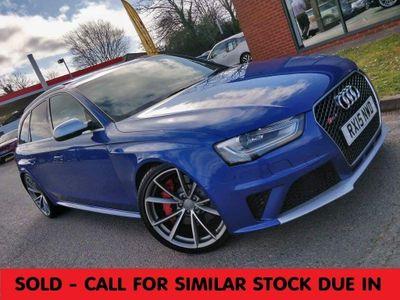 Audi RS4 Avant Estate 4.2 FSI V8 Avant S Tronic quattro 5dr