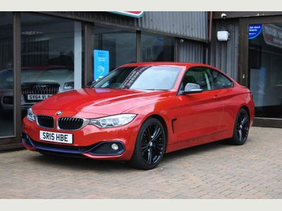BMW 4 Series Coupe 2.0 420i Sport 2dr