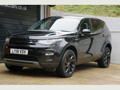 Land Rover Discovery Sport SUV 2.0 SD4 HSE Black Auto 4WD (s/s) 5dr 7 Seat