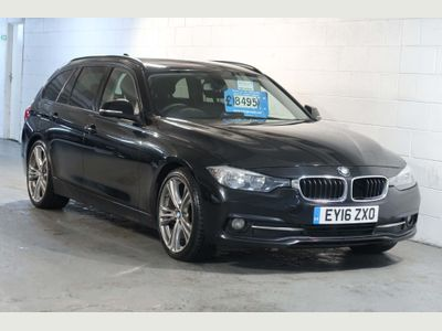BMW 3 Series Estate 2.0 320d ED Sport Touring Auto (s/s) 5dr