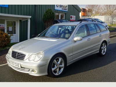 Mercedes-Benz C Class Estate 1.8 C200 Kompressor Avantgarde SE 5dr
