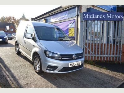 Volkswagen Caddy Panel Van 2.0 TDI C20 BlueMotion Tech Highline DSG 5dr