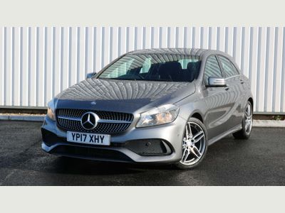 Mercedes-Benz A Class Hatchback 2.1 A200d AMG Line (Executive) 7G-DCT (s/s) 5dr
