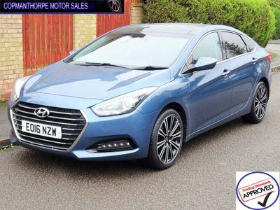 Hyundai i40 Saloon 1.7 CRDi Blue Drive Premium (s/s) 4dr