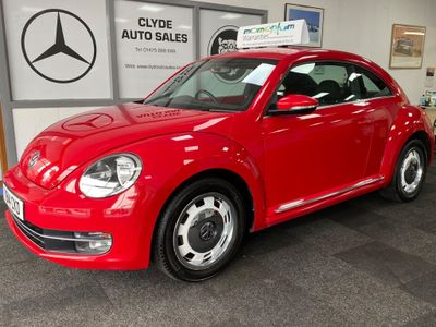 Volkswagen Beetle Hatchback 1.6 TDI BlueMotion Tech Design 3dr