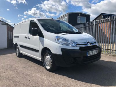 CITROEN DISPATCH Panel Van 2.0HDi 125BHP 6-Speed LWB Enterprise Van