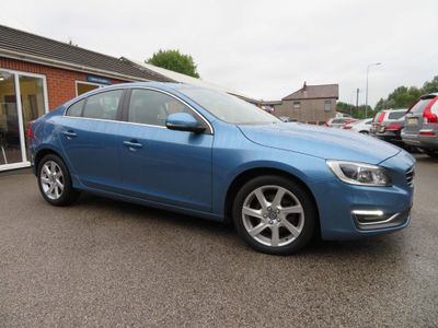 Volvo S60 Saloon 2.0 D4 SE Lux Nav Geartronic (s/s) 4dr