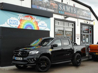 Mercedes-Benz X Class Pickup 3.0 X350d Power Double Cab Pickup G-Tronic+ 4MATIC 4dr