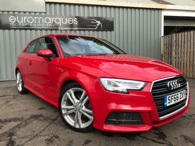 Audi A3 Hatchback 1.6 TDI S line (s/s) 3dr