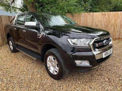 Ford Ranger Pickup 2.2 TDCi Limited 1 Double Cab Pickup 4WD (s/s) 4dr (Eco Axle)