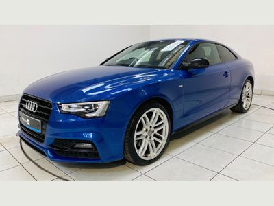 Audi A5 Coupe 2.0 TFSI Black Edition Plus quattro (s/s) 2dr
