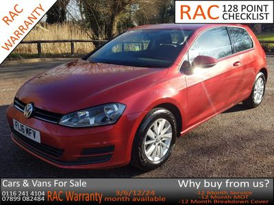 Volkswagen Golf Hatchback 1.2 TSI BlueMotion Tech S (s/s) 3dr