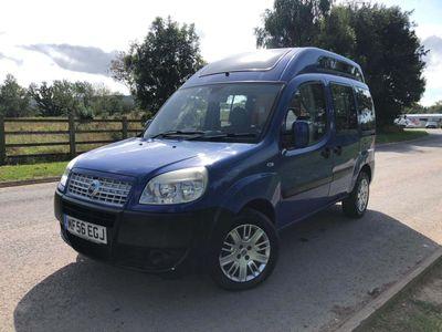 Fiat Doblo MPV small camper van.