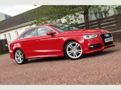 Audi A3 Saloon 1.6 TDI S line (s/s) 4dr