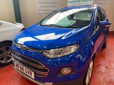 Ford EcoSport SUV 1.5 Ti-VCT Titanium Powershift 5dr