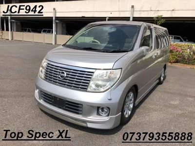 Nissan Elgrand MPV XL CURTAINS SUNROOF RECLINRE LEATHER