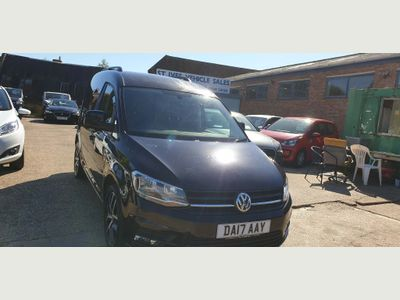 Volkswagen Caddy Panel Van 2.0 TDI C20 BlueMotion Tech Black Edition EU6 (s/s) 5dr