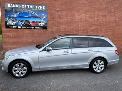 Mercedes-Benz C Class Estate 2.1 C200 CDI BlueEFFICIENCY SE (Executive) 5dr