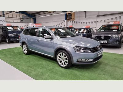 Volkswagen Passat Estate 2.0 TDI BlueMotion Tech Alltrack DSG 4Motion 5dr