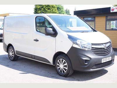 Vauxhall Vivaro Panel Van 1.6 CDTi 2700 ecoFLEX L1 H1 EU6 (s/s) 5dr