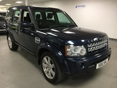 Land Rover Discovery 4 SUV 3.0 SD V6 GS 4X4 5dr