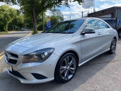 Mercedes-Benz CLA Class Coupe 2.1 CLA200 CDI Sport 7G-DCT 4dr