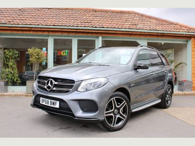 Mercedes-Benz GLE Class SUV 3.0 GLE350d V6 AMG Night Edition (Premium Plus) G-Tronic 4MATIC (s/s) 5dr