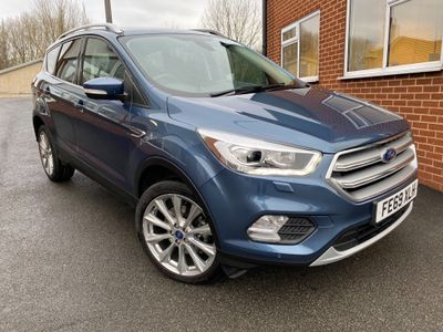 Ford Kuga SUV 2.0 TDCi EcoBlue Titanium X Edition AWD (s/s) 5dr
