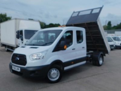 Ford Transit Tipper 2.2TDCI L3 125PS DOUBLE CAB TIPPER F/S/H
