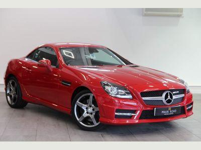 Mercedes-Benz SLK Convertible 1.8 SLK250 BlueEFFICIENCY AMG Sport Edition 125 7G-Tronic Plus 2dr
